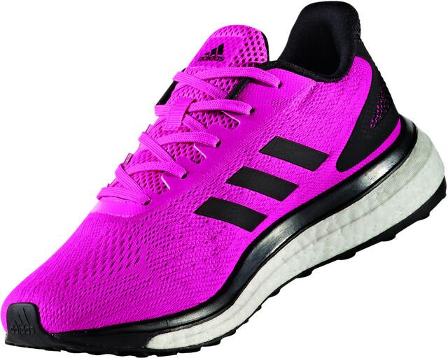 adidas Response LT Chaussures à tige basse Femme, shock pinkcore black/core  black